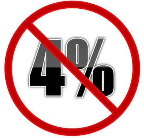 No 4 percent rule