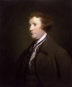 Painting of Edmund Burke