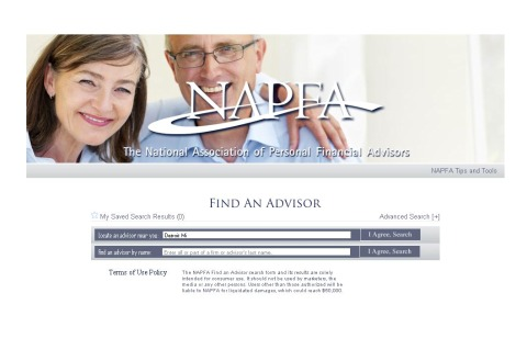 Financial Investment Advice - NAPFA