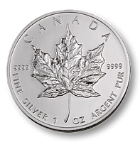 1oz Silver Maple Leaf